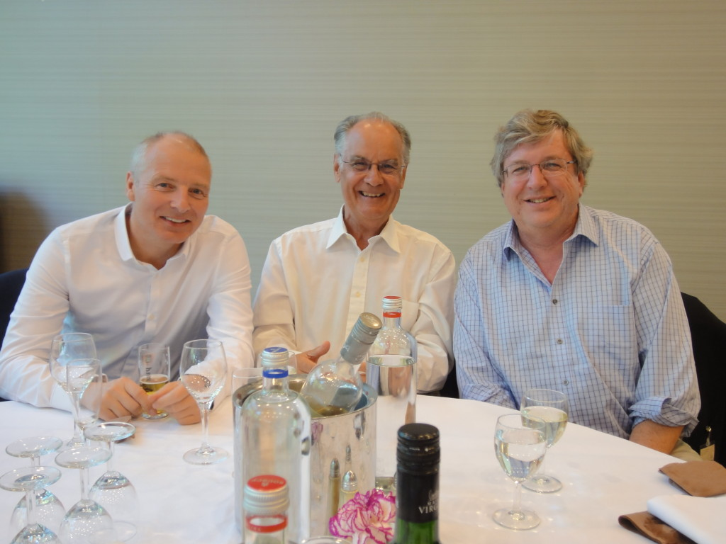 From left: Johannes Solhusvik, Peter JW Noble, and Eric Fossum