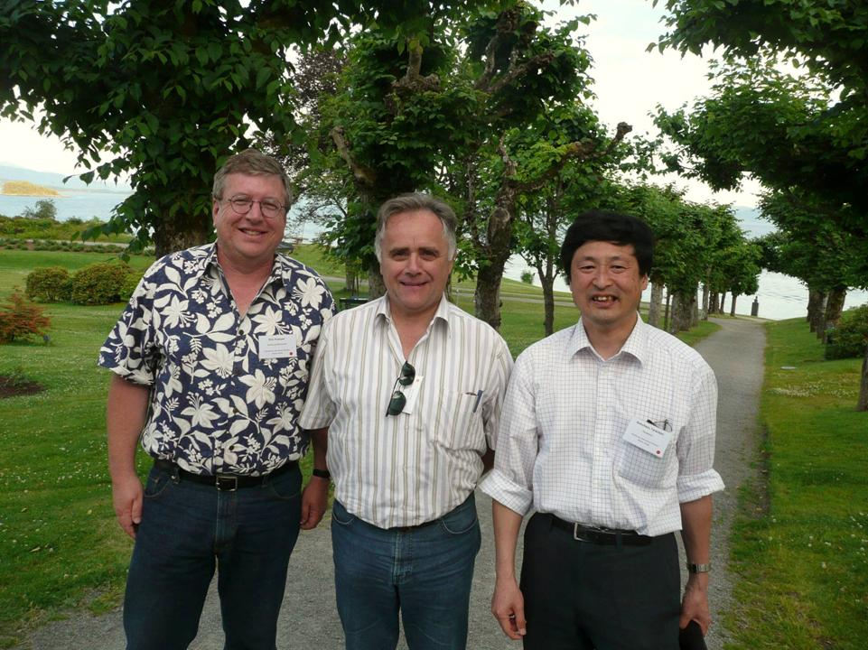Eric Fossum, Albert Theuwissen and Nobu Teranishi