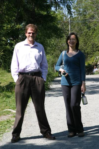 Daniel Van Blerkom and Michelle Wang